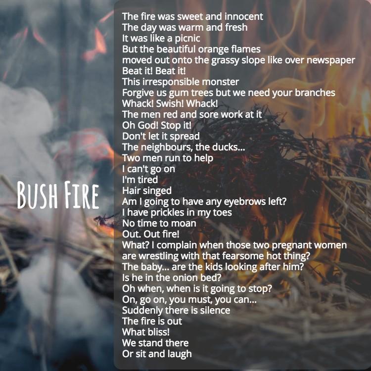 BushFirePoem
