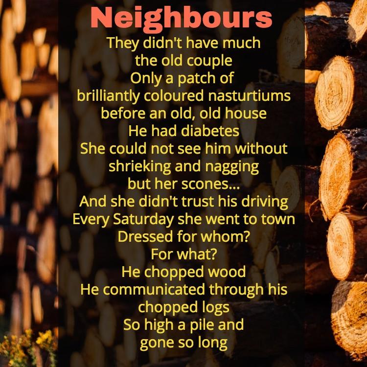 Poem-Neighbours