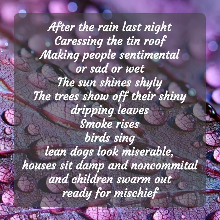 RainPoemMum