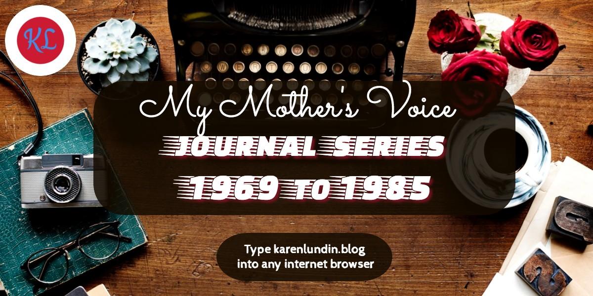 101. Dear Mary – Journal Entry 13th Aug1982